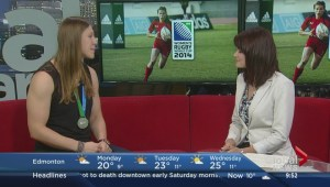 Women's Rugby Silver Medalist Maria Samson