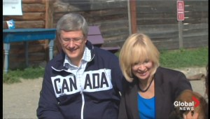 Harper begins northern visit