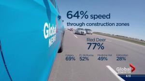 Officers urge motorists to slow down in construction zones