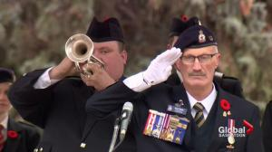 Vimy Ridge 100th anniversary commemorated at Saskatoon memorial