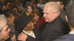 People come together to celebrate Rob Ford