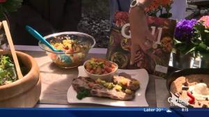 Lorraine on Location Part 3: Grilled fruit with ATCO Blue Flame Kitchen