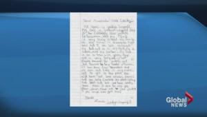 Jordan Leopold's daughter sent letter to GM asking for trade