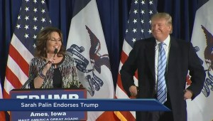 Trump endorsement shows Sarah Palin still a force in U.S. politics