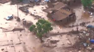 Two dams burst at iron ore mine in Brazil, flooding communities