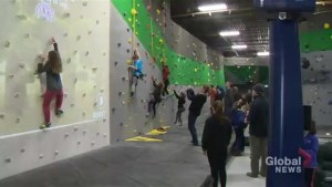 Biggest indoor rock climbing facility in the Maritimes opens its doors