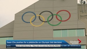 Sean Chu pushes for a plebiscite on Olympic bid decision