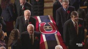 Jean Beliveau is put to rest