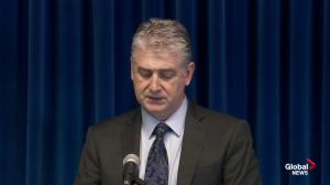 Presser: Edmonton man facing murder charges in Alberta and BC