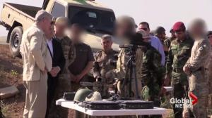 Prime Minister's Office posts, pulls video of Canadian soldiers on anti-ISIS mission