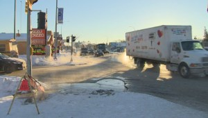 Water main break closes businesses, slows traffic in St. James