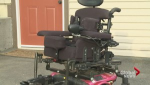 Stolen wheelchair returned