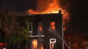 Ahuntsic-Cartierville fire destroys duplex