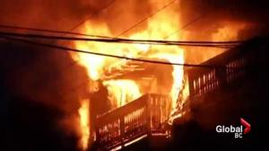 North Vancouver apartment fire leaves residents with nowhere to go