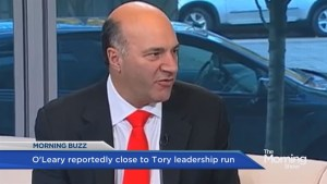 Kevin O'Leary gearing up for run at Tory Leadership