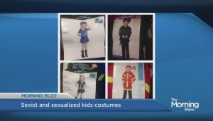 Anger over sexist and sexual costumes for kids
