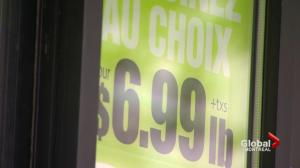 Price of groceries rising in Quebec
