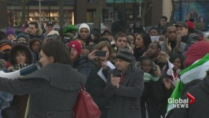Boko Haram Protest held in Montreal