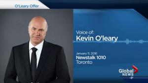 Kevin O'Leary promises $1M investment if Alberta premier resigns