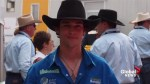 Canadian bull riders, close friends mourn death of 25-year-old rodeo star Ty Pozzobon