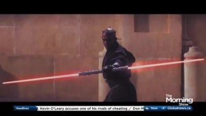 The man behind Darth Maul