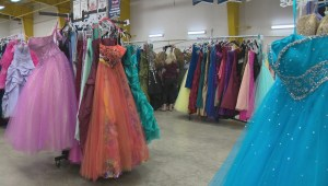 Dresses for Fire evacuee grads