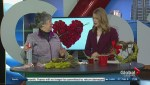 How to make a heart-shaped wreath for Valentine's Day