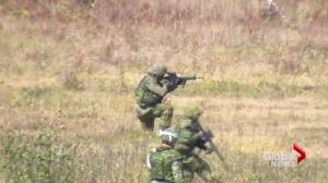 Reserve forces complete training at CFB Gagetown