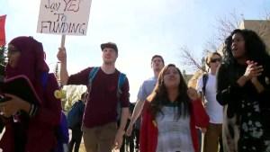 MRU tuition protest