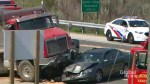 1 killed, 3 injured after dump truck collides with cars 27 in Toronto
