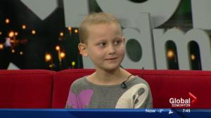 Kids with Cancer: Shelby talks about leukemia and experience reporting at Global