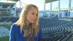 Art installation takes over Winnipeg Blue Bombers' Investors Group Field