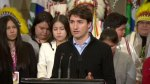 PM Justin Trudeau talks rebuilding relationship between First Nations, government