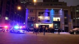 Man injured in downtown stabbing