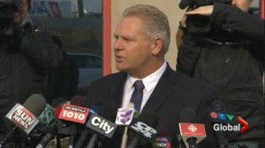 Doug Ford declines to run for PC leadership