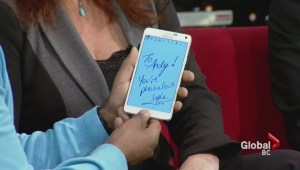 Tech: Exclusive look at Samsung Galaxy Note 4