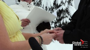 UK couple exchange vows on BC mountaintop