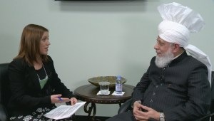 One-on-one with Caliph Hazrat Mirza Masroor Ahmad