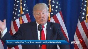 Trump criticized over response to deadly Charlottesville rally