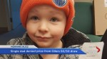 Single dad denied prize from Oilers 50/50 draw