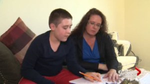12 year old autistic boy gets new chance at new school