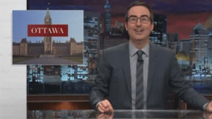 John Oliver pokes fun at Ottawa over Ashley Madison