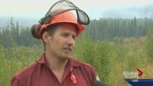 Wet weather helping crews trying to tame Little White Mountain wildfire