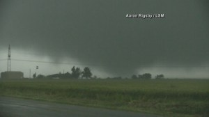 RAW: Multi-vortex tornado caught on camera in Texas