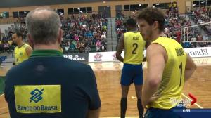Family connection on Brazil volleyball team