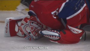 Canadiens goalie Carey Price out for the rest of Eastern Conference Final series