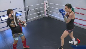 Calgary Muay Thai fighter Kelsey Andries