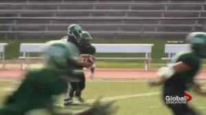Saskatchewan Huskies running backs a dynamic duo