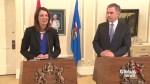Extended: Premier Jim Prentice, Danielle Smith on unification