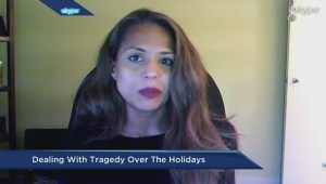 Dealing with tragedy over the holidays